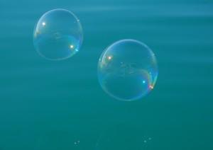 Seifenblasen klein